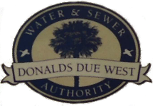 Donalds-Due West <br/>Water & Sewer Authority <br/>134 N. Main St. Donalds, SC 29638